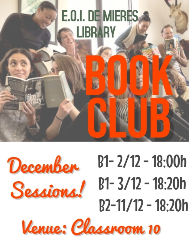 BOOK CLUBS DECEMBER SESSIONS